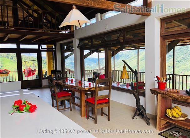 Elegant Home in Private Ecological Property Home Rental in Nanegalito, Pichincha, Ecuador 0