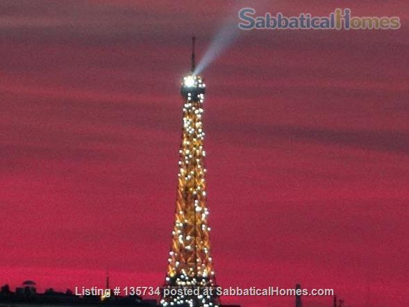 Marais Bastille Listed *Studio  W/ Fab View on Whole Paris- 15sqm Home Rental in Paris 1