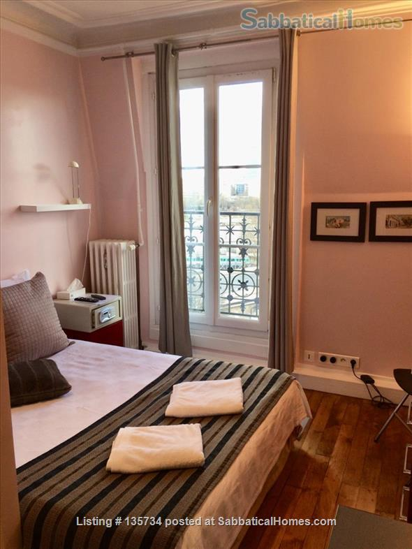 Marais Bastille Listed *Studio  W/ Fab View on Whole Paris- 15sqm Home Rental in Paris 3 - thumbnail
