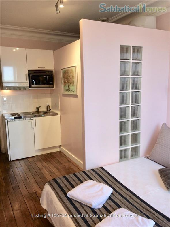 Marais Bastille Listed *Studio  W/ Fab View on Whole Paris- 15sqm Home Rental in Paris 4