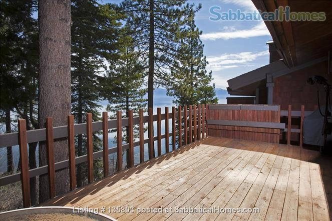 Lakefront Lake Tahoe Home Rental in Tahoe City, California, United States 2
