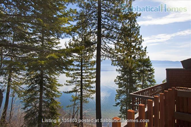 Lakefront Lake Tahoe Home Rental in Tahoe City, California, United States 3