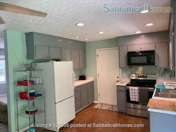 Great Furnished Home In Family Neighborhood Close to Virginia Tech, Shopping, Outdoors in Blacksburg, VA Home Rental in Blacksburg, Virginia, United States 4