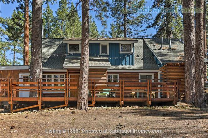 North Lake Tahoe Log Cabin Home Rental in Kings Beach, California, United States 9