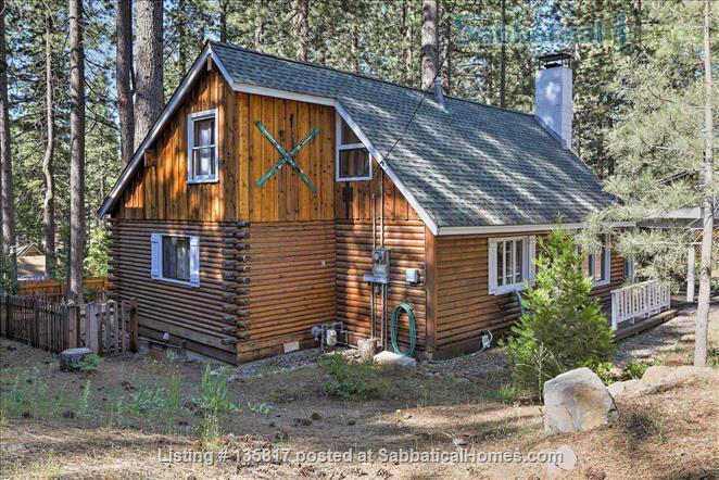 North Lake Tahoe Log Cabin Home Rental in Kings Beach, California, United States 1
