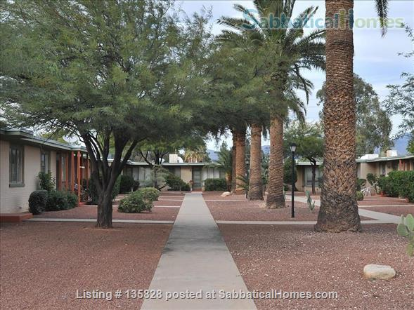 Furnished 1-Bedroom, 1-Bath  Condo/Townhouse for Rent Home Rental in Tucson, Arizona, United States 1