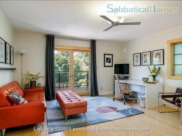 Peaceful 1 Bdrm. in-law apt. /newly remodeled + seismic & energy upgrades Home Rental in Kensington, California, United States 1