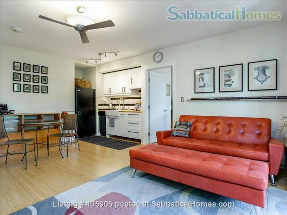 Peaceful 1 Bdrm. in-law apt. /newly remodeled + seismic & energy upgrades Home Rental in Kensington, California, United States 2