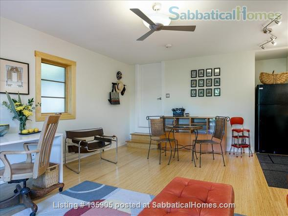 Peaceful 1 Bdrm. in-law apt. /newly remodeled + seismic & energy upgrades Home Rental in Kensington, California, United States 3