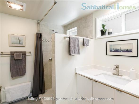 Peaceful 1 Bdrm. in-law apt. /newly remodeled + seismic & energy upgrades Home Rental in Kensington, California, United States 7