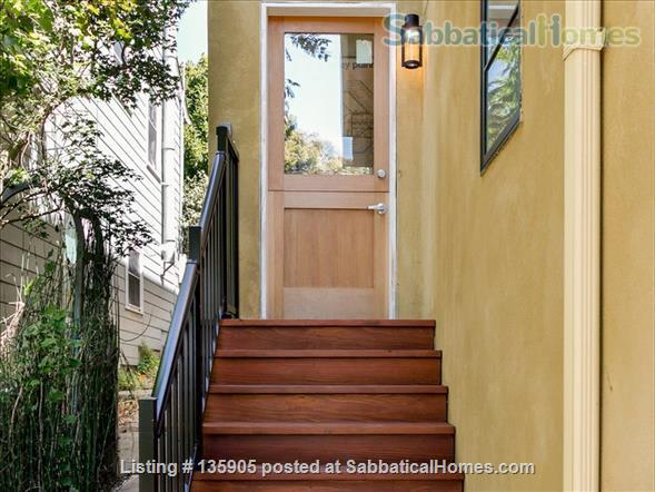 Peaceful 1 Bdrm. in-law apt. /newly remodeled + seismic & energy upgrades Home Rental in Kensington, California, United States 8