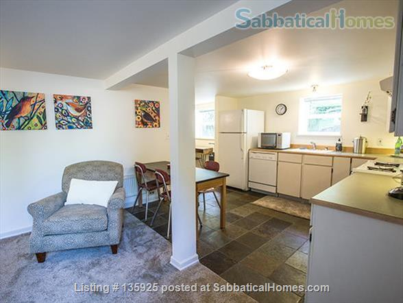 Light, Stylish Suite in Private Phinney Home Home Rental in Seattle, Washington, United States 0