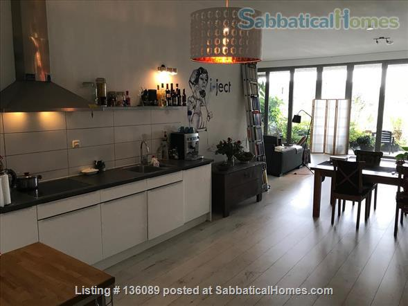 Loft on ground floor 100+ square meters, ideal for one or two Home Rental in Amsterdam, Noord-Holland, Netherlands 4