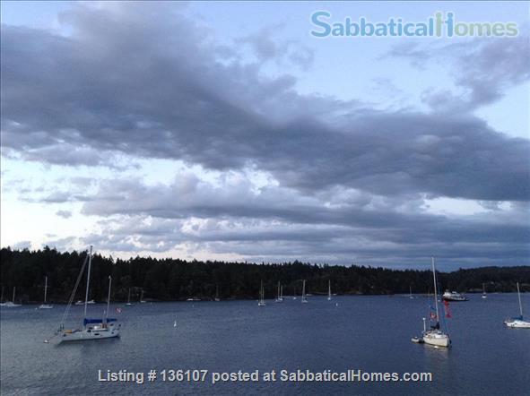 Island Retreat on the water Home Rental in Salt Spring Island, British Columbia, Canada 1