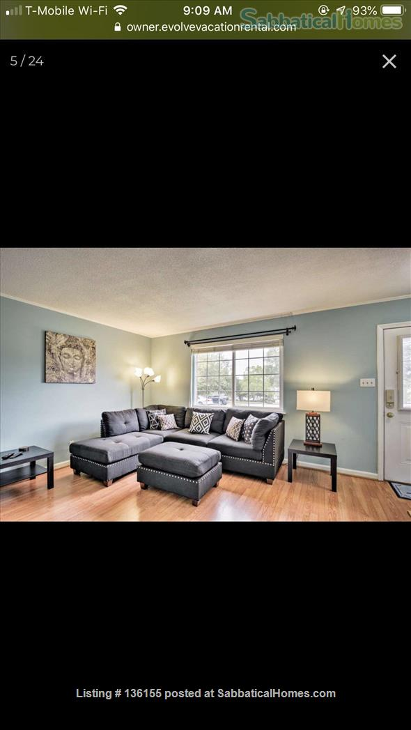 Awesome townhouse  Home Rental in Chapel Hill, North Carolina, United States 9