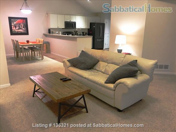 Spacious 2-bed, 2-bath condo in New Albany, all utilities included Home Rental in New Albany, Ohio, United States 3