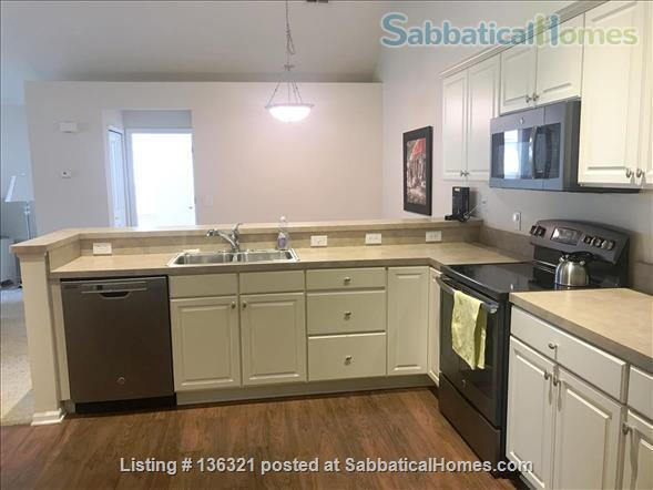 Spacious 2-bed, 2-bath condo in New Albany, all utilities included Home Rental in New Albany, Ohio, United States 4