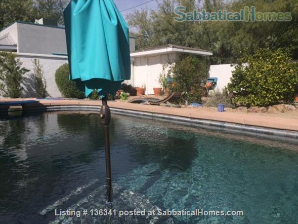 Beautiful house with pool in downtown Tucson Home Rental in Tucson, Arizona, United States 1