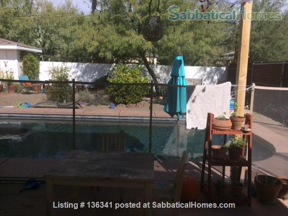Beautiful house with pool in downtown Tucson Home Rental in Tucson, Arizona, United States 0