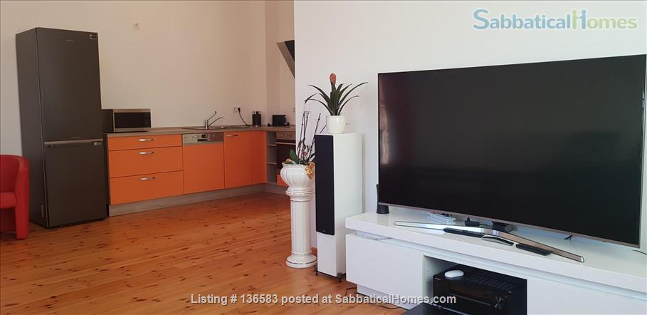Spacious and quiet Berlin penthouse apartment Home Rental in Berlin, Berlin, Germany 2