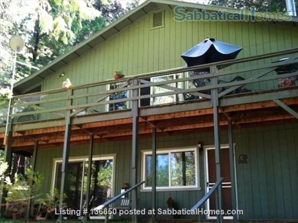 Serenity Central:  A place to listen to the wind and renew your soul Home Rental in Dutch Flat, California, United States 1