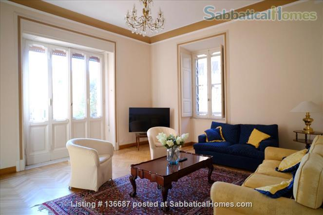 LARGE Glorioso · FAMILY FURNISHED SABBATICAL HOME Home Rental in Roma, Lazio, Italy 1