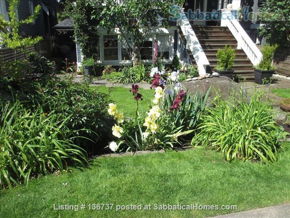 Rebekah and Malcolm's Garden Suite Home Rental in Vancouver, British Columbia, Canada 1
