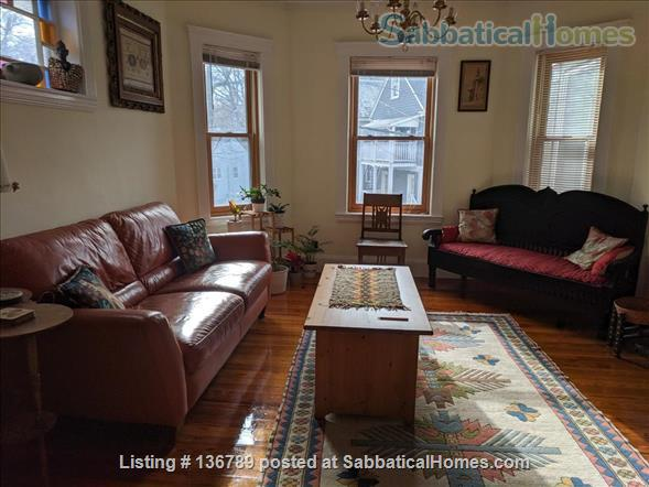 Beautiful furnished 3 BR 2 Bath duplex apt. near Harvard for summer Home Rental in Cambridge, Massachusetts, United States 1