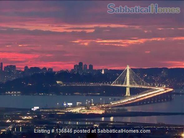 Spacious & Furnished Upper Rockridge Home for 1-year rental Home Rental in Oakland, California, United States 9