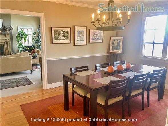 Spacious & Furnished Upper Rockridge Home for 1-year rental Home Rental in Oakland, California, United States 3