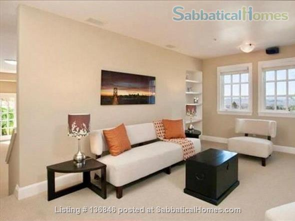 Spacious & Furnished Upper Rockridge Home for 1-year rental Home Rental in Oakland, California, United States 5