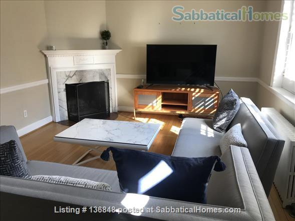 Updated, All-Inclusive, Recently Furnished Chevy Chase DC Townhouse near shops, restaurants, and bookstore Home Rental in Washington, District of Columbia, United States 0