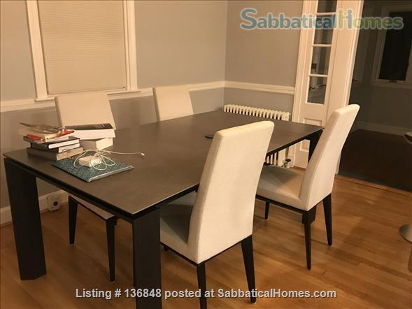 Updated, All-Inclusive, Recently Furnished Chevy Chase DC Townhouse near shops, restaurants, and bookstore Home Rental in Washington, District of Columbia, United States 2