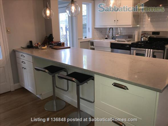 Updated, All-Inclusive, Recently Furnished Chevy Chase DC Townhouse near shops, restaurants, and bookstore Home Rental in Washington, District of Columbia, United States 3