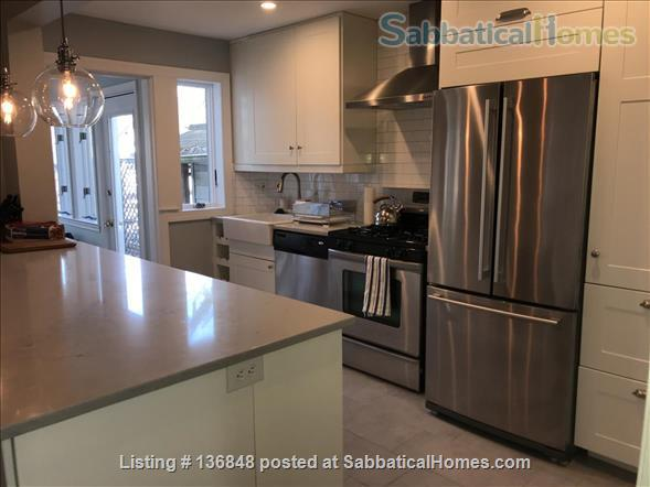 Updated, All-Inclusive, Recently Furnished Chevy Chase DC Townhouse near shops, restaurants, and bookstore Home Rental in Washington, District of Columbia, United States 4
