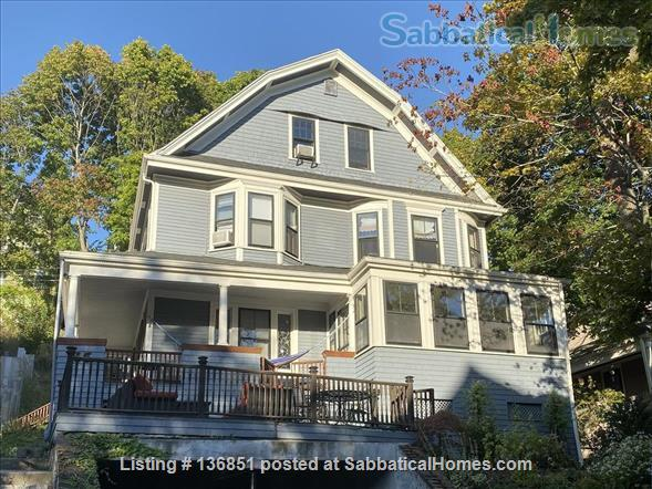 Large Furnished Victorian Home, Perfect Family Location in Brookline,  Pet Friendly Home Rental in Brookline, Massachusetts, United States 1