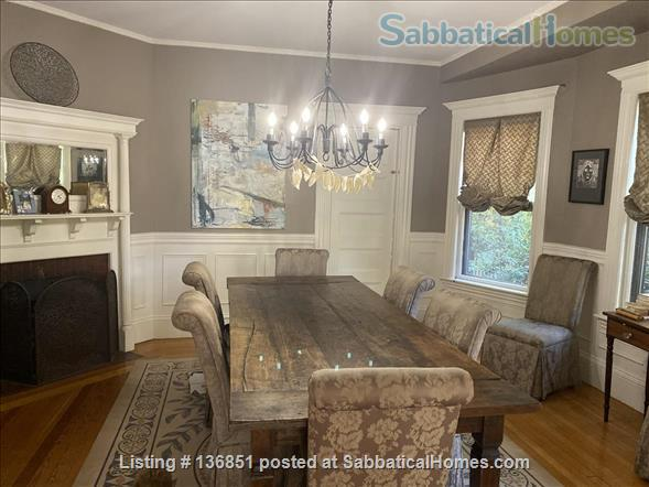 Large Furnished Victorian Home, Perfect Family Location in Brookline,  Pet Friendly Home Rental in Brookline, Massachusetts, United States 8
