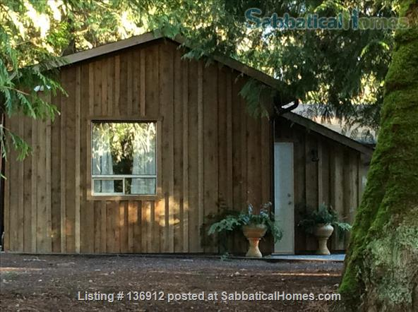 Private and Peaceful Cottage on Salt Spring Island Home Rental in Ganges, British Columbia, Canada 1