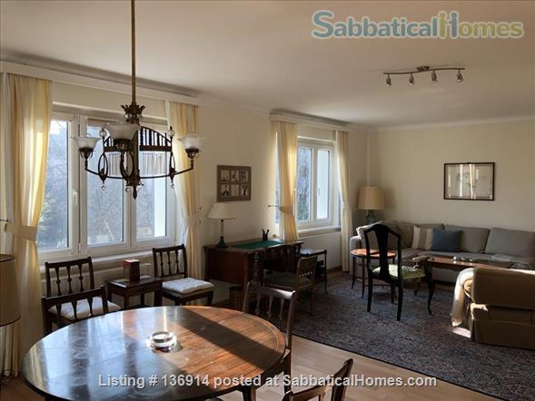 Beautiful sunny apartment with balcony in a great location Home Rental in Vienna, Wien, Austria 1