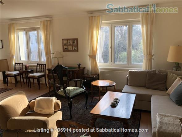 Beautiful sunny apartment with balcony in a great location Home Rental in Vienna, Wien, Austria 0