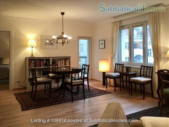 Beautiful sunny apartment with balcony in a great location Home Rental in Vienna, Wien, Austria 2