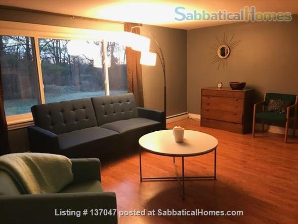 Close to everything!Fully furnished. Spacious 1550 SQF House 3BR/1.5 BA+ Office/Rec Room  Home Rental in Ithaca, New York, United States 1
