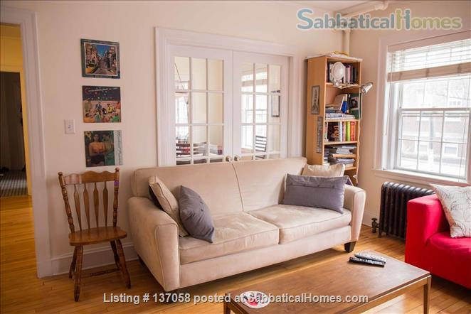 Beautiful furnished large 1br near Harvard Yard, 3 months or a longer term Home Rental in Cambridge, Massachusetts, United States 0