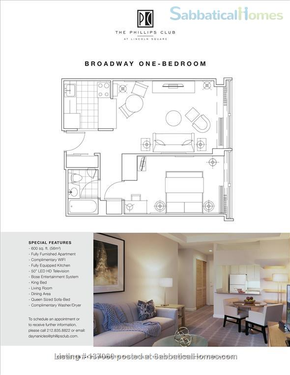 Spacious Apartments on the Upper West Side Home Rental in New York, New York, United States 1