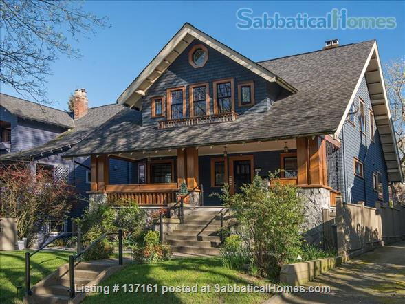 Luxury One Bedroom Suite - Restored Heritage Classic - Exclusive West Side Neighbourhood  Home Rental in Vancouver, British Columbia, Canada 1