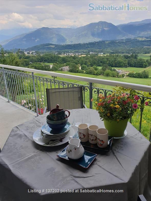 """French Alps 180°-view appartement in """"chalet"""" for 2-3 p Home Rental in Saint-Jean-de-la-Porte, Auvergne-Rhône-Alpes, France 0"""