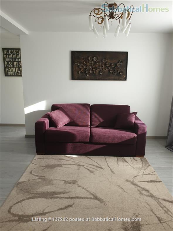 """French Alps 180°-view appartement in """"chalet"""" for 2-3 p Home Rental in Saint-Jean-de-la-Porte, Auvergne-Rhône-Alpes, France 2"""