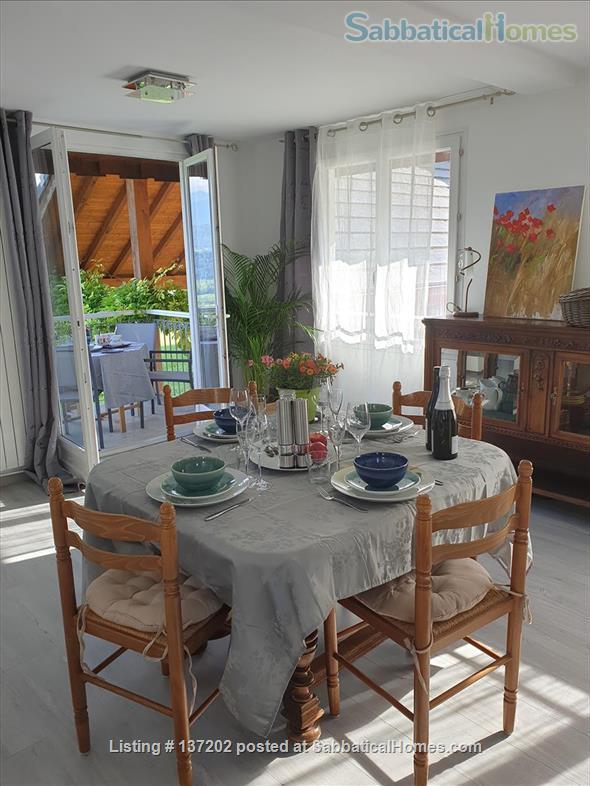 """French Alps 180°-view appartement in """"chalet"""" for 2-3 p Home Rental in Saint-Jean-de-la-Porte, Auvergne-Rhône-Alpes, France 4"""