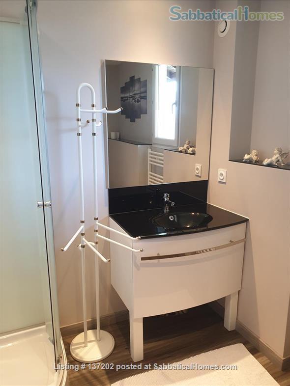 """French Alps 180°-view appartement in """"chalet"""" for 2-3 p Home Rental in Saint-Jean-de-la-Porte, Auvergne-Rhône-Alpes, France 5"""