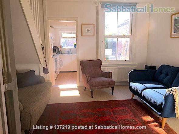 House in great location with lovely south facing outlook adjoining university playing fields. Home Rental in Cambridge, England, United Kingdom 1